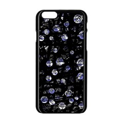Blue soul Apple iPhone 6/6S Black Enamel Case