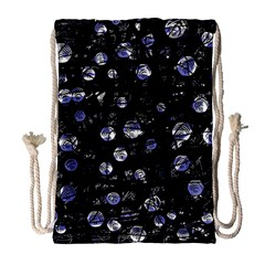 Blue soul Drawstring Bag (Large)
