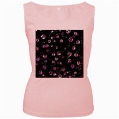 Purple soul Women s Pink Tank Top