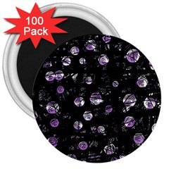 Purple soul 3  Magnets (100 pack)