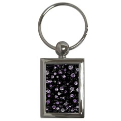 Purple soul Key Chains (Rectangle)