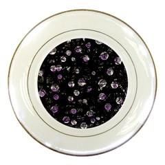 Purple soul Porcelain Plates