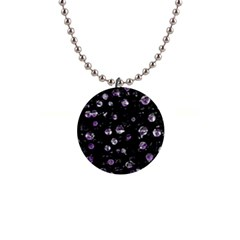 Purple soul Button Necklaces