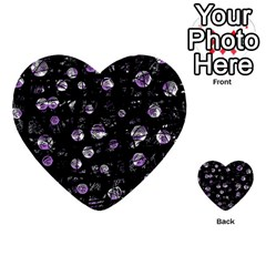 Purple soul Multi-purpose Cards (Heart)