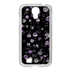Purple soul Samsung GALAXY S4 I9500/ I9505 Case (White)