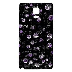 Purple soul Galaxy Note 4 Back Case