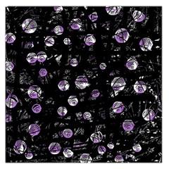 Purple soul Large Satin Scarf (Square)