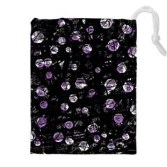 Purple soul Drawstring Pouches (XXL)