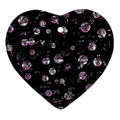 Purple soul Ornament (Heart)