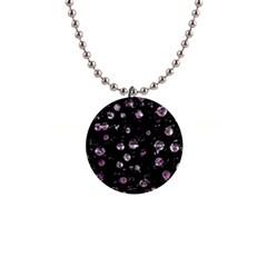 Purple soul Button Necklaces