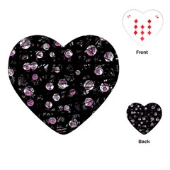 Purple soul Playing Cards (Heart)