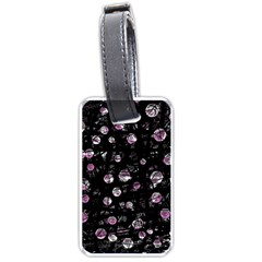 Purple soul Luggage Tags (One Side)