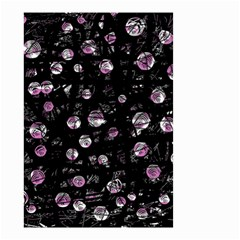 Purple soul Small Garden Flag (Two Sides)