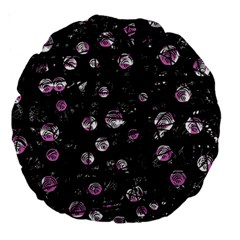 Purple soul Large 18  Premium Round Cushions