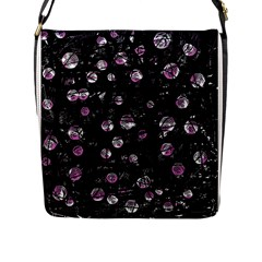 Purple soul Flap Messenger Bag (L)