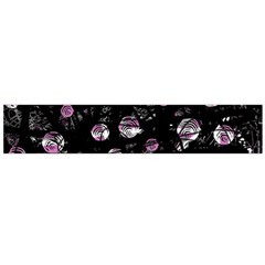 Purple soul Flano Scarf (Large)