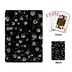 Green soul  Playing Card