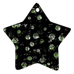 Green soul  Star Ornament (Two Sides)