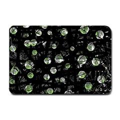 Green soul  Small Doormat