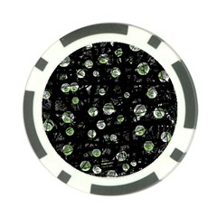 Green soul  Poker Chip Card Guards (10 pack)