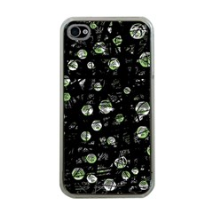 Green soul  Apple iPhone 4 Case (Clear)