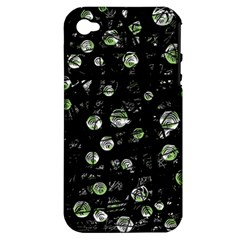 Green soul  Apple iPhone 4/4S Hardshell Case (PC+Silicone)