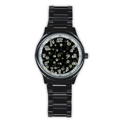 Green soul  Stainless Steel Round Watch