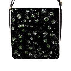 Green soul  Flap Messenger Bag (L)