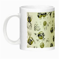 White and yellow soul Night Luminous Mugs