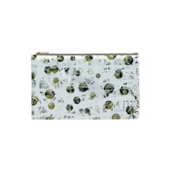 White and yellow soul Cosmetic Bag (Small)