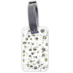 White and yellow soul Luggage Tags (One Side)