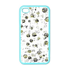 White and yellow soul Apple iPhone 4 Case (Color)