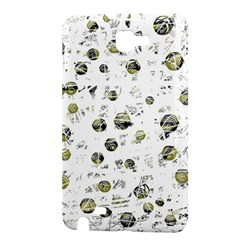 White and yellow soul Samsung Galaxy Note 1 Hardshell Case