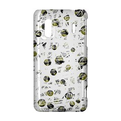 White and yellow soul HTC Evo Design 4G/ Hero S Hardshell Case
