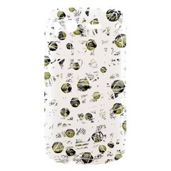 White and yellow soul HTC Desire S Hardshell Case