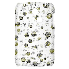 White and yellow soul Samsung S3350 Hardshell Case