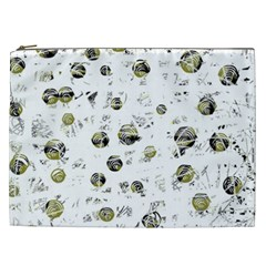 White and yellow soul Cosmetic Bag (XXL)