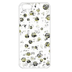 White and yellow soul Apple iPhone 5 Seamless Case (White)