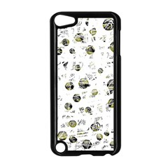 White and yellow soul Apple iPod Touch 5 Case (Black)