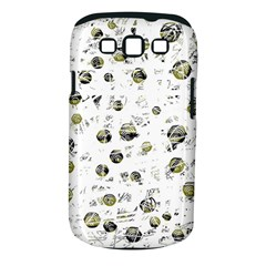 White and yellow soul Samsung Galaxy S III Classic Hardshell Case (PC+Silicone)