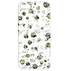 White and yellow soul Apple iPhone 5 Hardshell Case with Stand