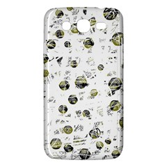 White and yellow soul Samsung Galaxy Mega 5.8 I9152 Hardshell Case
