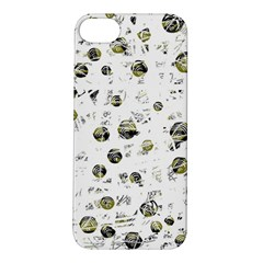 White and yellow soul Apple iPhone 5S/ SE Hardshell Case