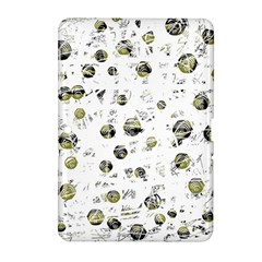 White and yellow soul Samsung Galaxy Tab 2 (10.1 ) P5100 Hardshell Case