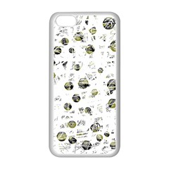 White and yellow soul Apple iPhone 5C Seamless Case (White)