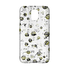 White and yellow soul Samsung Galaxy S5 Hardshell Case