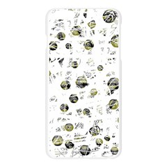White and yellow soul Apple Seamless iPhone 6 Plus/6S Plus Case (Transparent)