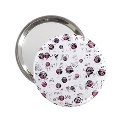 White and red soul 2.25  Handbag Mirrors
