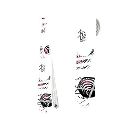White and red soul Neckties (One Side)