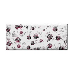 White and red soul Hand Towel